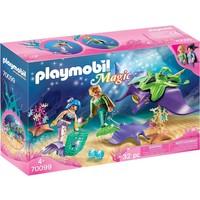 Parelvissers met roggen Playmobil