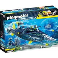 S.h.a.r.k. Team Drilonderzeeer Playmobil