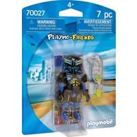 Ruimteagent Playmobil