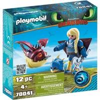 Astrid in vliegpak en Schrokop Playmobil