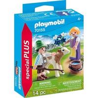 Kinderen met kalf Playmobil