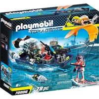 S.h.a.r.k. Team Harpoenboot Playmobil