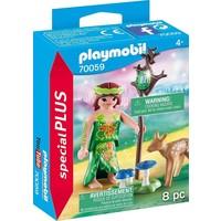 Nimf en hertenkalf Playmobil