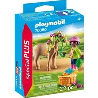 Meisje met pony Playmobil
