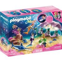 Nachtlamp in schelp met meerminnen Playmobil