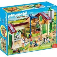 Boerderij met silo en dieren Playmobil