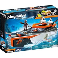Spy Team Turboschip Playmobil