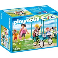 Familiefiets Playmobil