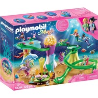Koraalpaviljoen met lichtkoepel Playmobil