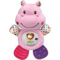 Bijtring Nijlpaard roze Vtech: 0+ mnd