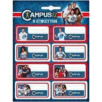 Etiketten Campus 12 8 stuks