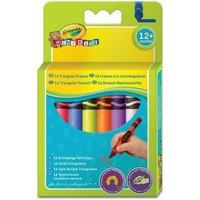 Waskrijtjes driehoek Crayola 16 stuks