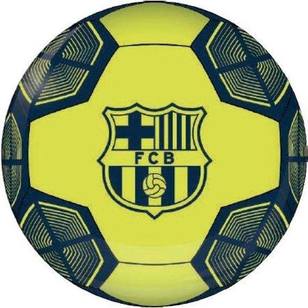 Bal Fc Barcelona Leer Groot Neon Metallic Sinqel