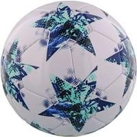 Bal Champions League leer groot wit/blauw