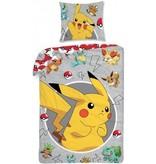 Pokémon Dekbedovertrek Pokemon Pikachu 140x200/70x90 cm