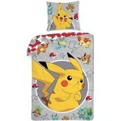 Dekbedovertrek Pokemon Pikachu 140x200/70x90 cm