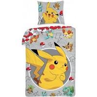 Dekbed Pokemon: Pikachu 140x200/70x90 cm