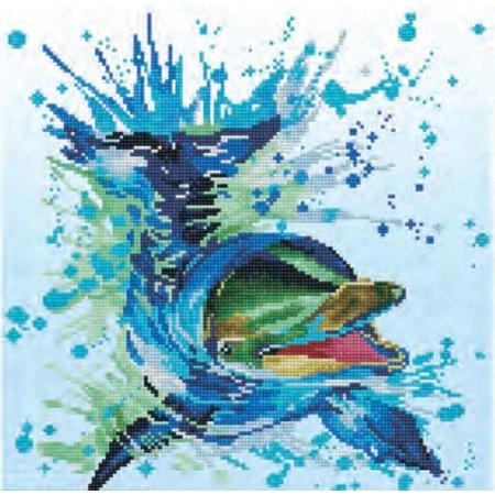 Diamond Dotz Diamond Dotz® Flipper - Diamond Painting (40x40 cm)
