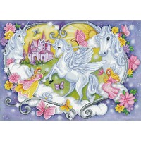 Diamond Dotz® Princess Magic - Diamond Painting