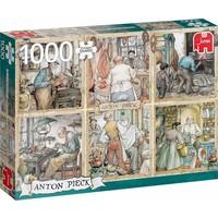 Puzzel Anton Pieck: Vakmanschap 1000 stukjes