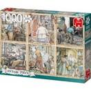 Anton Pieck Puzzel Anton Pieck: Vakmanschap 1000 stukjes