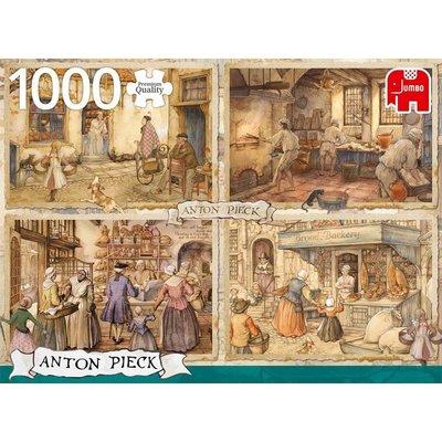 Anton Pieck Puzzel Anton Pieck: Bakkers uit 1900 1000 stukjes