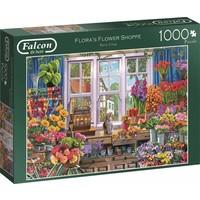 Puzzel Falcon: Flower Shop 1000 stukjes
