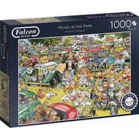 Puzzel Falcon: Graham Thompson Picnic 1000 stukjes