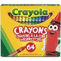 Waskrijtjes Crayola: 64 stuks