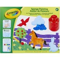 Knutselset Schilderen met Spons Crayola
