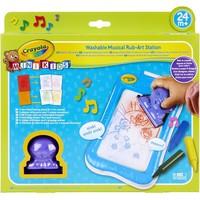 Muzikaal kleur-wrijf tablet Crayola