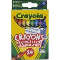 Waskrijtjes Crayola: 24 stuks