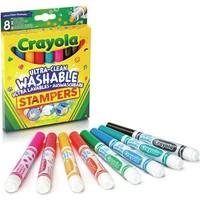 Stempelstiften Crayola: 8 stuks