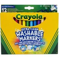 Viltstiften met kegelpunt Crayola: 12 stuks