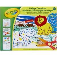 Knutselset Sjablonen Crayola: Dieren