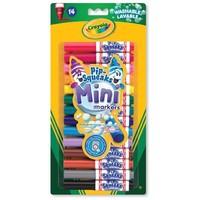 Mini Afwasbare Viltstiften Crayola: 14 stuks