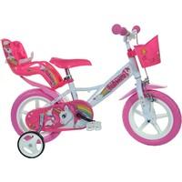 Kinderfiets Dino Bikes eenhoorn: 12 inch