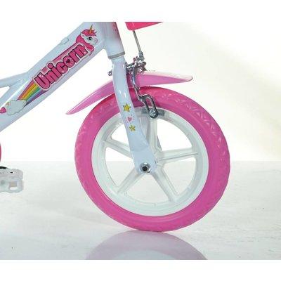 Dino Bikes Kinderfiets Dino Bikes eenhoorn: 12 inch