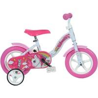 Kinderfiets Dino Bikes eenhoorn: 10 inch
