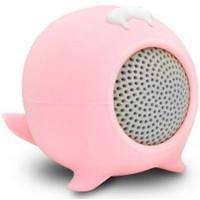 Cuty Sealion iDance Bluetooth Speaker roze