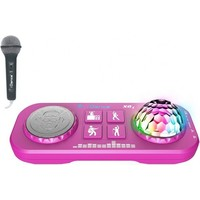 Party Box iDance Karaoke mixer roze