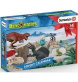 Schleich Schleich Adventskalender Dino 97982 - Speelfigurenset - Dinosaurs - 39 x 7,5 x 28,5 cm