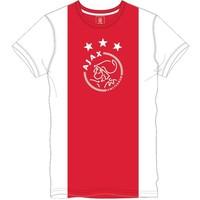 T-shirt ajax wit/rood/wit logo