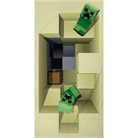 Badlaken Minecraft: 70x140 cm