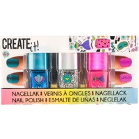 Nagellak Create It set van 5