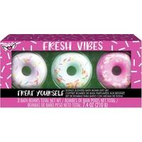 Fresh Vibes Bruisballen Donuts Crayola: 3 stuks