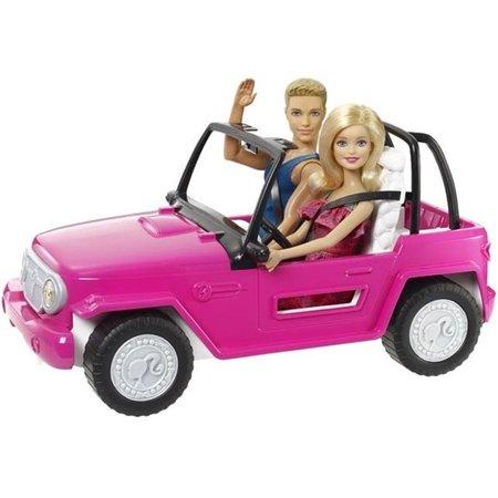 Barbie Beach cruiser Barbie met Ken & Barbie