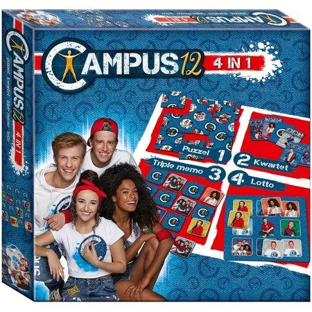 Campus 12 Spel 4 in 1 Campus 12