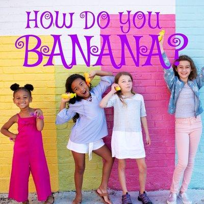 Bananas Banana`s: roze