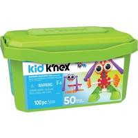 Bouwdoos 50 modellen Kid K`nex: 100 stuks